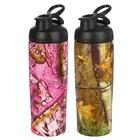 "Бутылка для воды ""Природа"", 800 мл, спортивная, микс, 8х25.5 см"