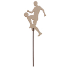 "Топпер ""Футболист 9"" из фанеры, 7,5х11,5 см"