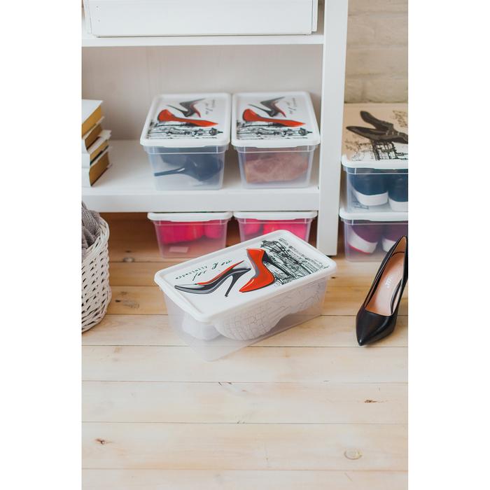 Контейнер для женской обуви 330×190×120 мм - фото 302304070