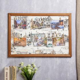 "Photo frame collage ""Narrow streets"" (6 photos) 40x60 cm"