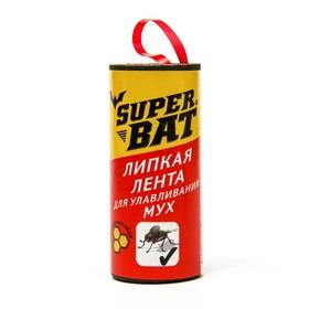 """Липкая лента от мух """"Super Bat"""""""