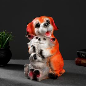 "Копилка ""Собака с кошкой""  29х18х20см"