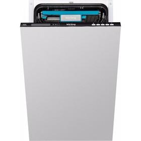Посудомоечная машина Körting KDI 45165, 8 программ, 10 комплектов, класс  A++, луч на полу