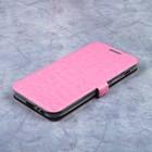 Чехол-книжка Caseguru Magnetic Case Samsung Galaxy A3 2017 Глянцево-светло розовый