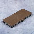 Чехол-книжка Caseguru Magnetic Case Samsung Galaxy S8 Plus Светло-коричневый