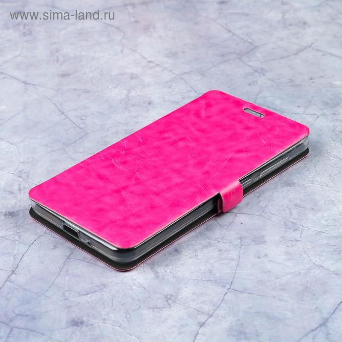 Чехол-книжка Caseguru Magnetic Case Xiaomi Redmi 4A Глянцево-розовый