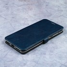 Чехол-книжка Caseguru Magnetic Case Asus Zenfone 4 Max ZC554KL Лазурно-синий