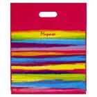 """Пакет """"Мираж"""", полиэтиленовый с вырубной ручкой, 40 х 47 см, 45 мкм"""