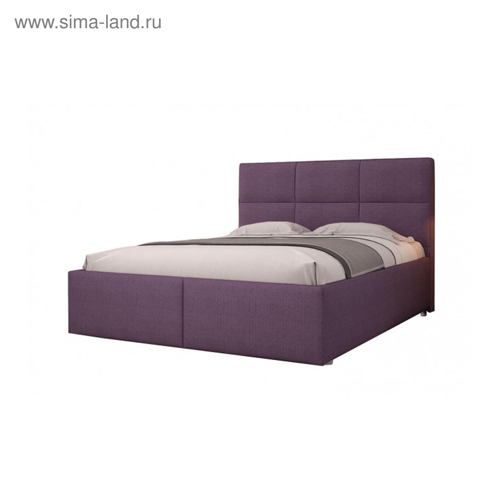 72ef92526 Кровать «Бруно», с подъёмным механизмом, 180 х 200 см, сиреневый ...