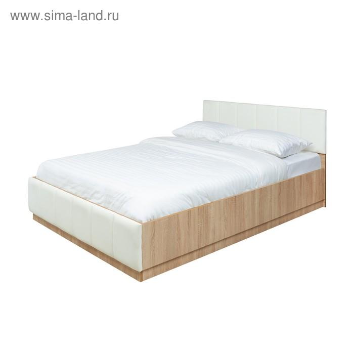 """Кровать с подъёмным механизмом """"Модена"""", 140х200 см, дуб"""
