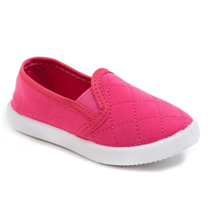 Слипоны детские KAFTAN, р-р 28,  розовый 3018107
