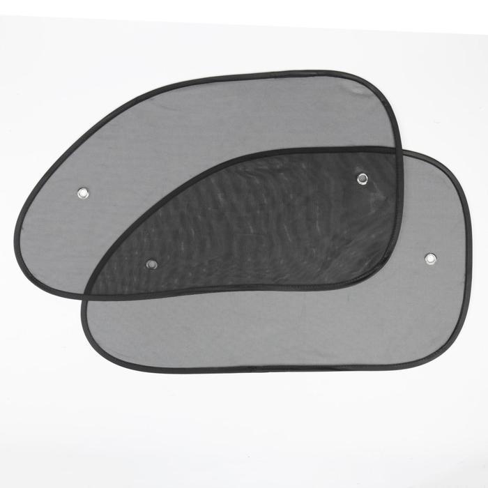 Шторки солнцезащитные на присосках TORSO, 36x65 см, набор 2 шт
