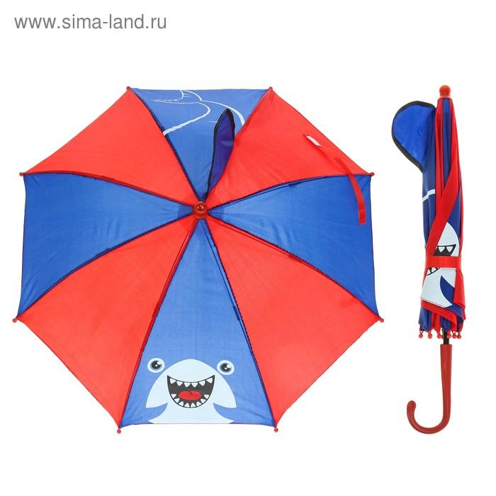 Umbrella child fur R-25 cm 8-spoke P/e with the fin of a Shark