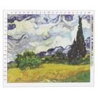 Канва для вышивания с рисунком «Ван Гог. Рожь» 47 х 39 см - фото 692587