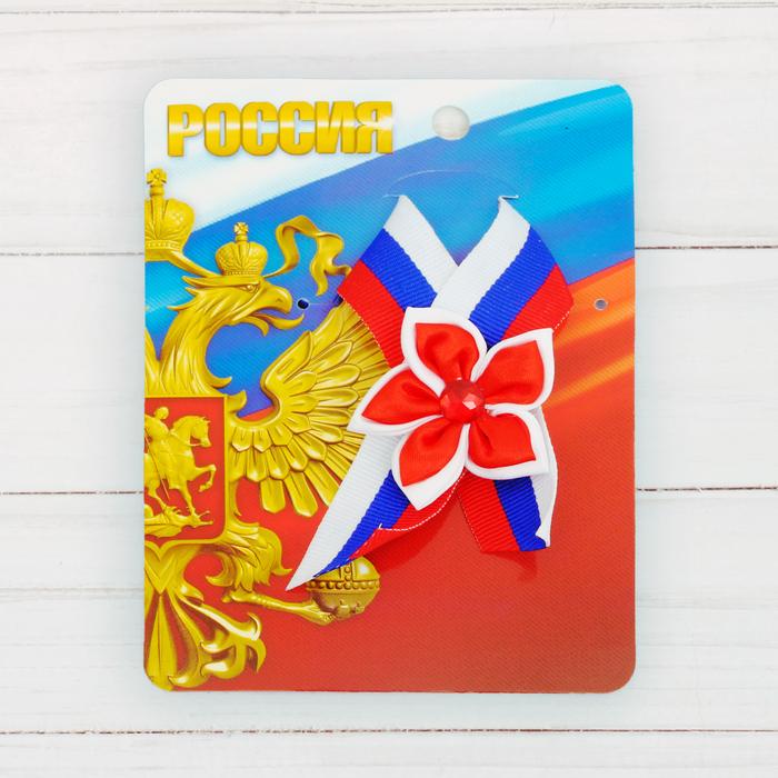 Лента «Россия», фигурная триколор