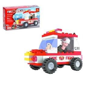Конструктор Пожарная бригада «Патруль», 58 деталей