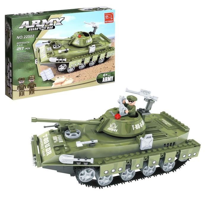 "Конструктор Армия ""Танк"", 213 деталей"