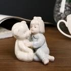 "Souvenir ""Girl in a blue Onesie with a bear"" 8,5х9х6,5 cm"