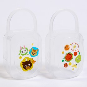 A container for storing nipples and pacifiers Fruit