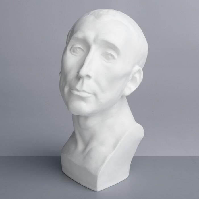 Гипсовая фигура, Бюст Николло да Удзано «Мастерская Экорше», 22х21х36 см