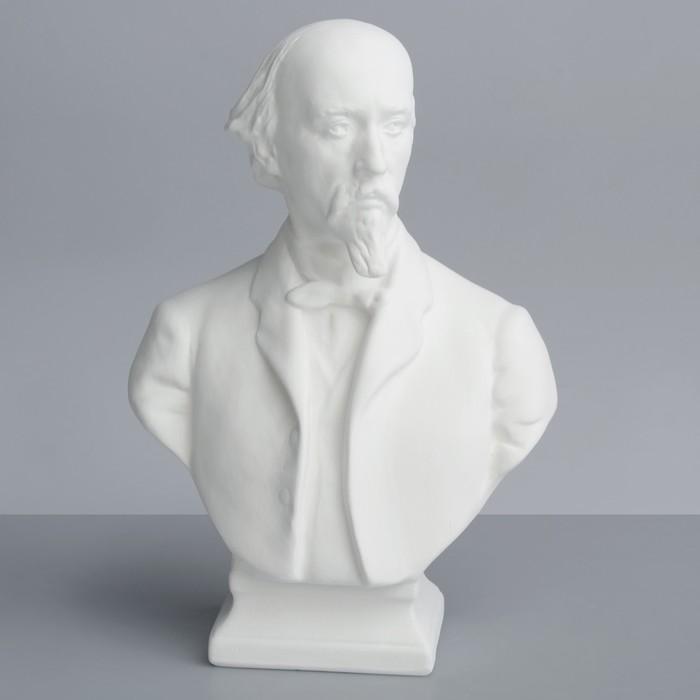 Гипсовая фигура, Известные люди: Бюст Некрасова «Мастерская Экорше», 14 х 8 х 20,5 см