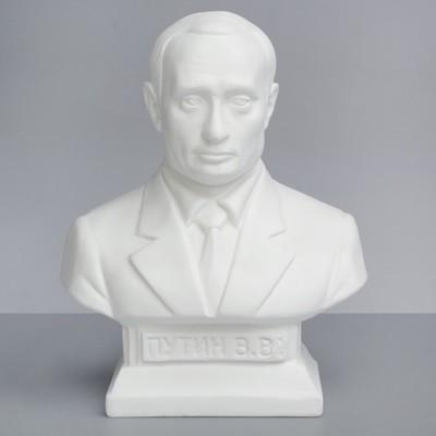 Гипсовая фигура Известные люди: Бюст Путина 14*8*19 10-134