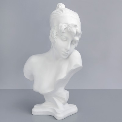 Гипсовая фигура. Известные люди: бюст Сафо, 25 x 13 x 42 см