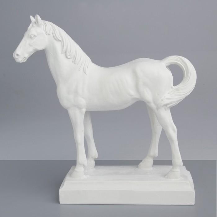 Гипсовая фигура. Известные люди: Лошадь, 28x9.5x29.5 см