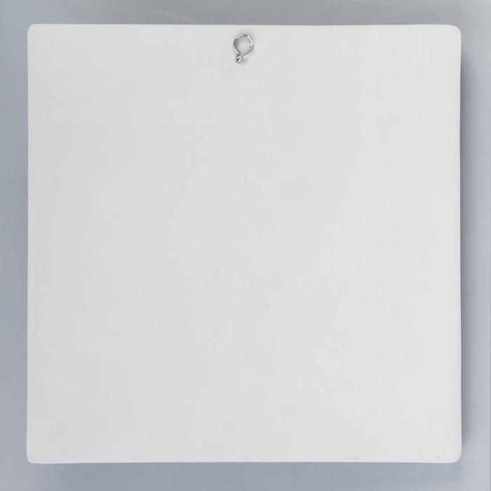 Гипсовая фигура, Орнамент - Звезда, 30х30х6 см