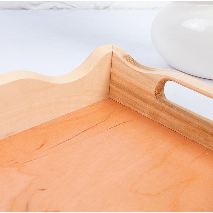 Поднос для завтрака волна №1 30х20х5,5см