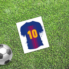 """Card mini–format single """"Best"""" football, 9 x 10 cm"""
