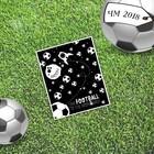 Открытка мини–формата одинарная «Космос», футбол, 9 х 10 см