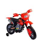 Мотоцикл на аккумуляторе (1х6V, 4,5Ah), красный, в/к 102*53*66 см
