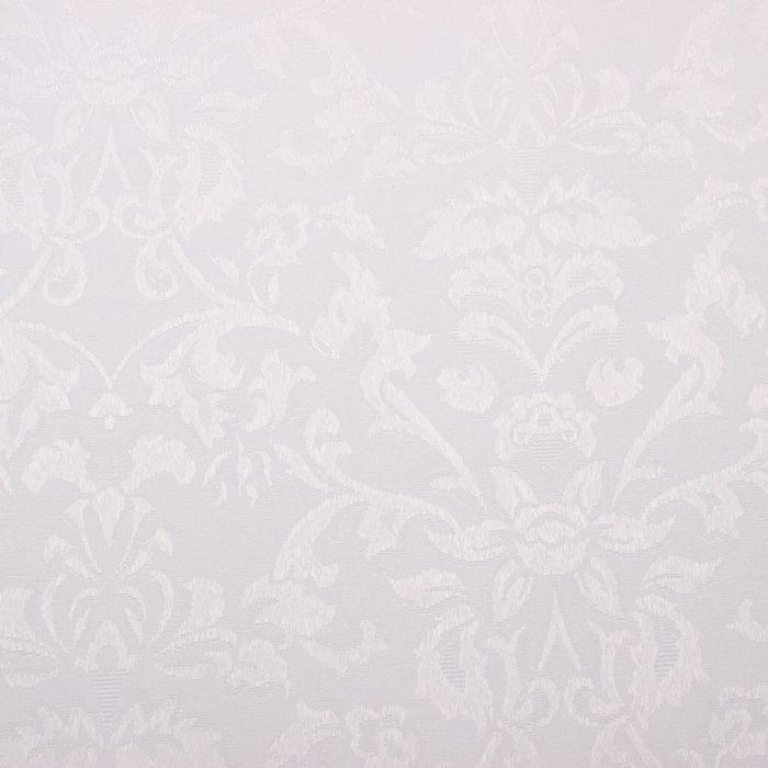 Ткань для столового белья с ГМО Роскошь ш.155, дл. 30 м, цв. белый, пл. 192 г/м2