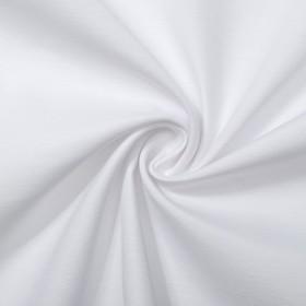 Ткань для столового белья с ГМО однотонная ш.155, дл.30м, цв.белый, пл. 192 г/м2