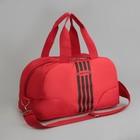 Сумка спортивная, отдел на молнии, наружный карман, цвет розовый/чёрный