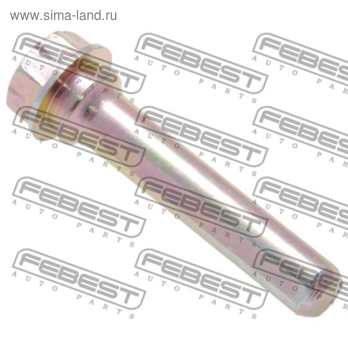Втулка направляющая суппорта тормозного переднего febest 0174-acv30f