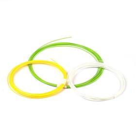 Пластик ABS-3, по 10 м, 3 цвета в наборе