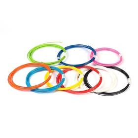 Пластик ABS-9, по 10 м, 9 цветов в наборе