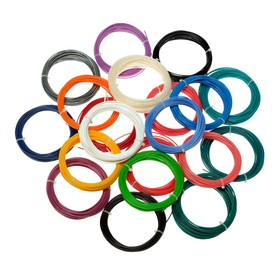 Пластик ABS-20, по 10 м, 20 цветов в наборе