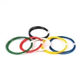 Пластик PLA-6, по 10 м, 6 цветов в наборе