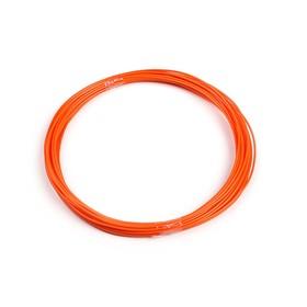 Пластик ABS, для 3Д ручки, длина 10 м, оранжевый