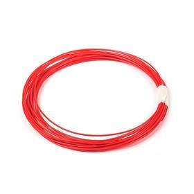 Пластик PLA, для 3Д ручки, длина 10 м, красный Ош