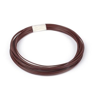 PLA plastic for 3D pen, length 10 m, brown