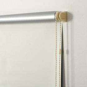 Штора-ролет «Блэкаут», 70 х 160 см, цвет ваниль