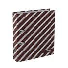 Папка-регистратор А4, 75мм Monochrome, бордовый