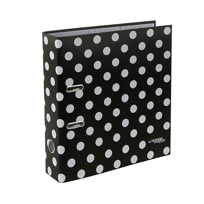 Папка-регистратор А4, 75мм Monochrome, черный