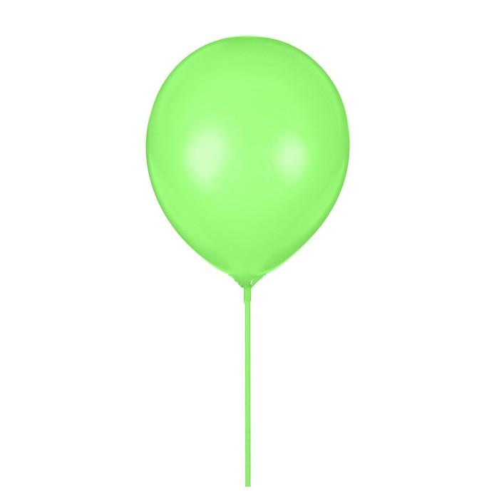 """Шары латексные 10"""" «Гармония» с палочками и держателями, набор 12 шт., цвет зелёный - фото 308474479"""