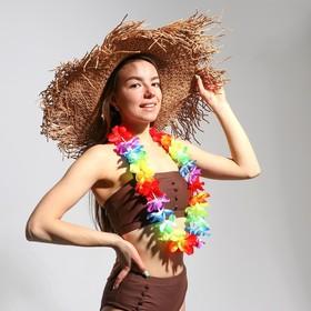 Гавайское ожерелье «Радуга цветов»