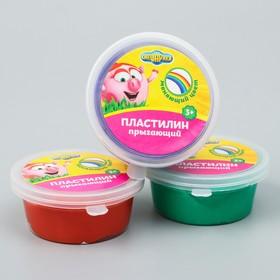 Жвачка для рук меняющая цвет, прыгающий пластилин, СМЕШАРИКИ, 50 грамм, цвет МИКС